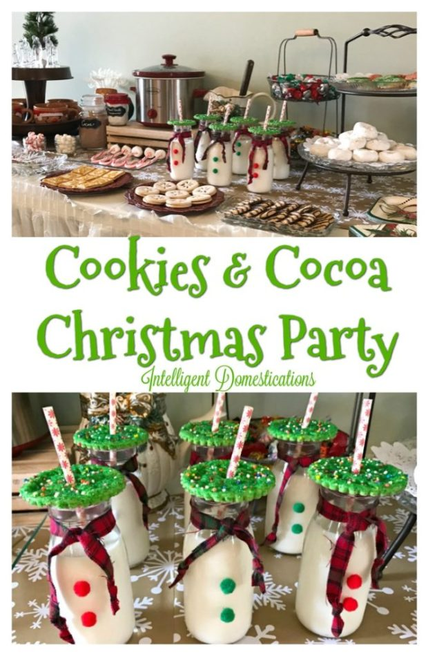 Cookies & Cocoa Party Ideas