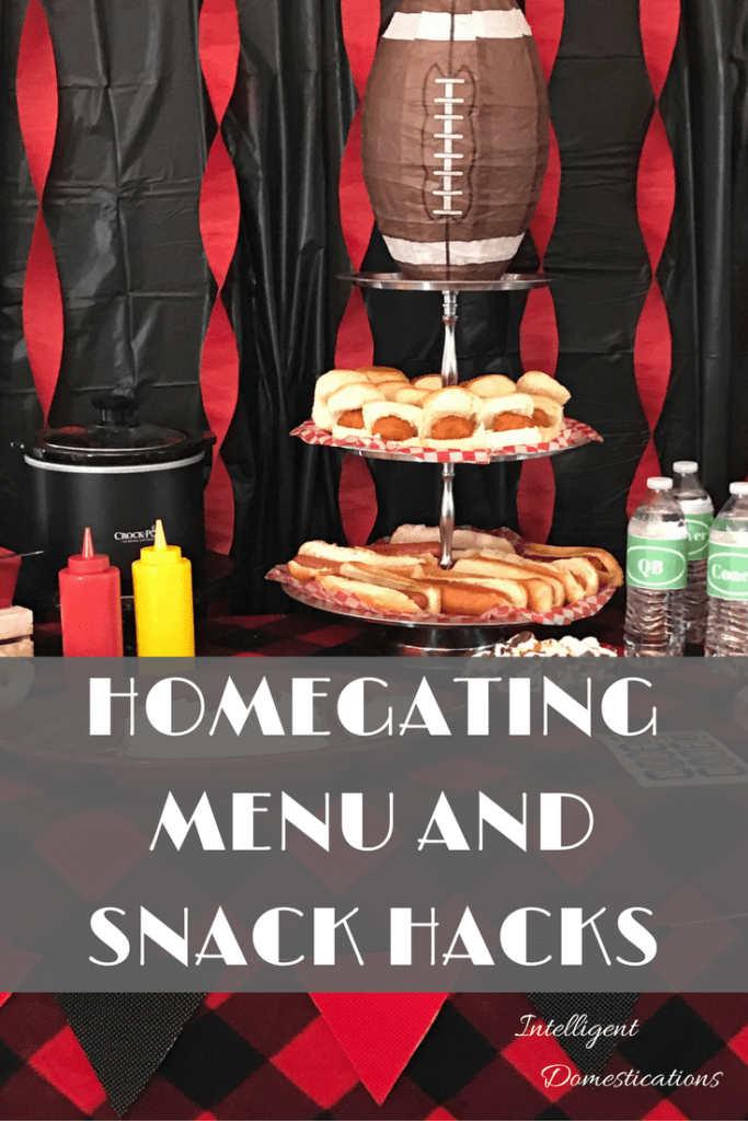 Homegating Menu & Snack Hack Ideas including free printable water bottle team position labels, recipe for Crockpot Maple Beans & Franks and much more ad #Fanfoodleague