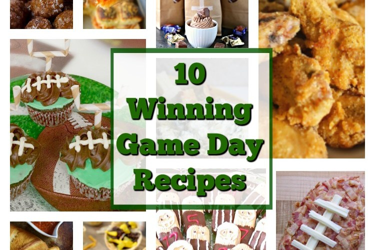 Merry Monday Link Party #139 – 10 Winning Game Day Recipes