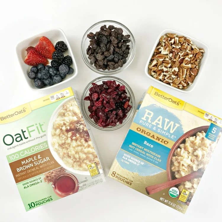 Healthy Breakfast Routine with our breakfast hack. Mason Jar Oatmeal brown bag breakfast.