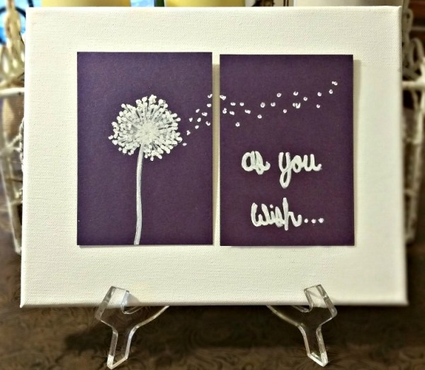 DIY Princess Bride Quote Picture. As You Wish DIY picture
