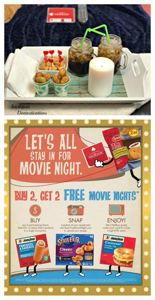 Free Movie Night thanks to Walmart Tyson and Redbox #TysonFreeMovieNight