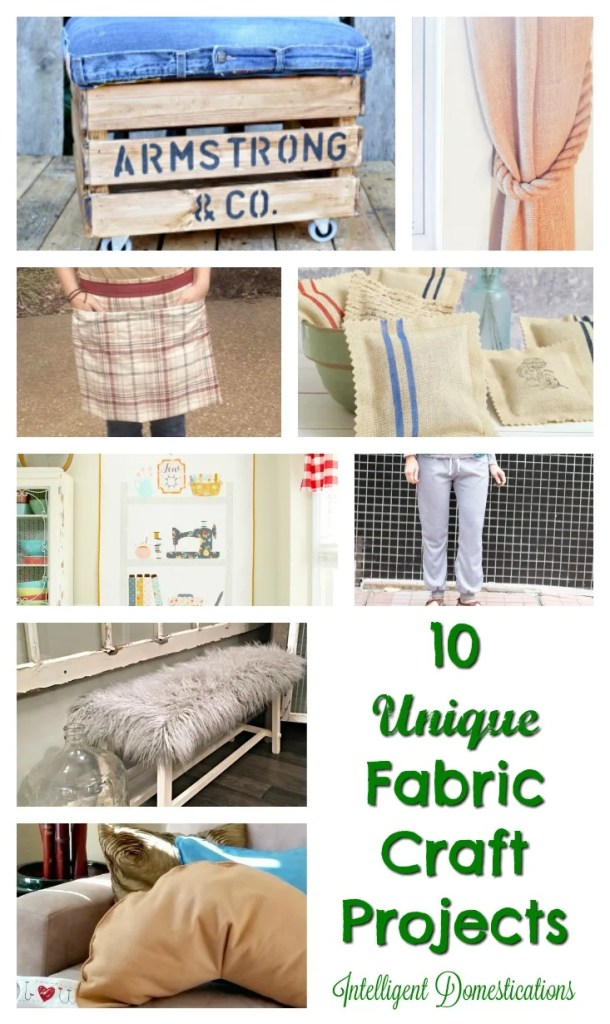 10 Unique Fabric Craft projects