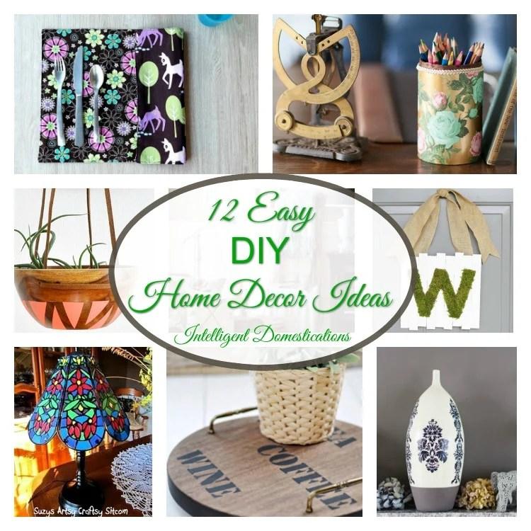 12 Easy DIY Home Decor Ideas U0026 Merry Monday Link Up #144