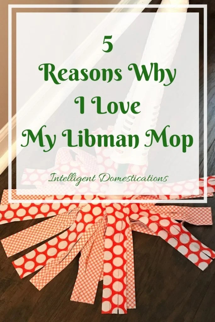 5 Reasons Why I Love My Libman Wonder Mop and you will too