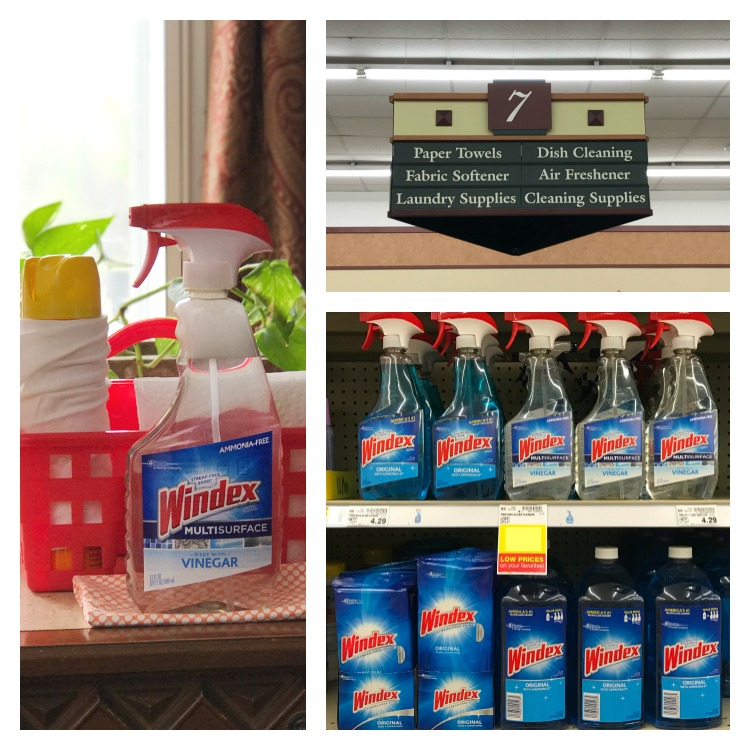 Windex products are available at your local Kroger store