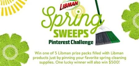 Libman Spring Sweeps Pinterest Challenge