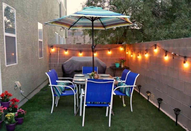 Small yard ideas from Growing Up Gabel