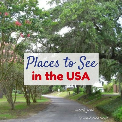 Places to See in the USA and Merry Monday Link Party #160