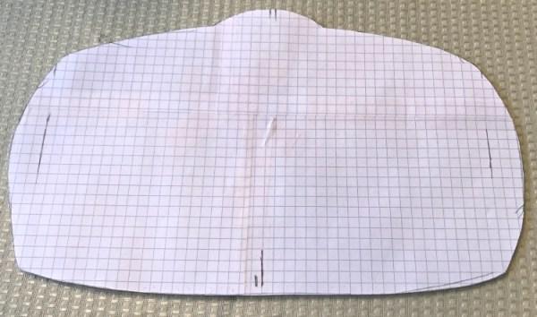 a paper pattern for making a DIY Championship Belt