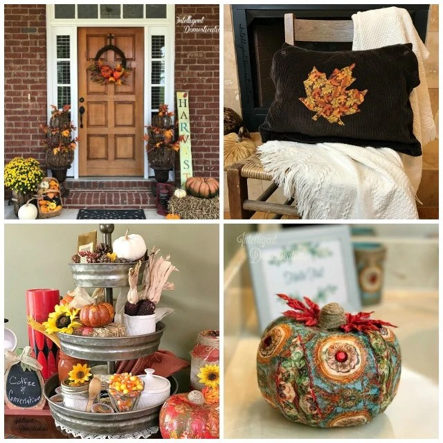 DIY Fall Decor projects.