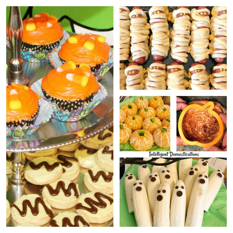 seven super easy halloween party food ideas intelligent domestications