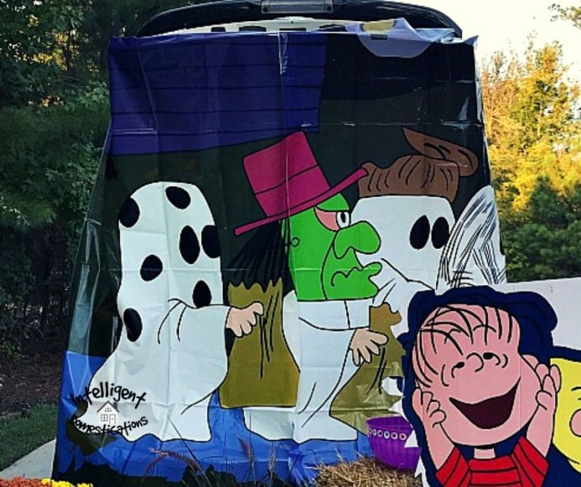 Charlie Brown Trunk or Treat theme