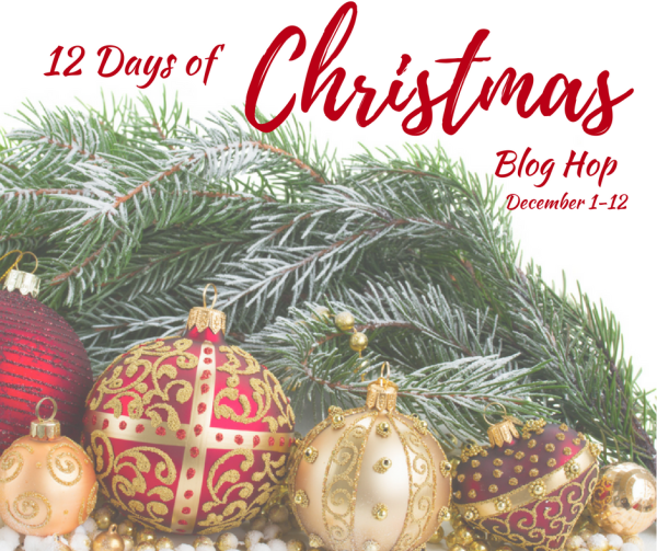 12 Days of Christmas Blog Hop Dec. 1 12 FB Image DIY Dollar Tree Christmas Wreath