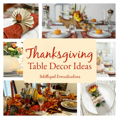 Thanksgiving Table Decor Ideas Merry Monday #180