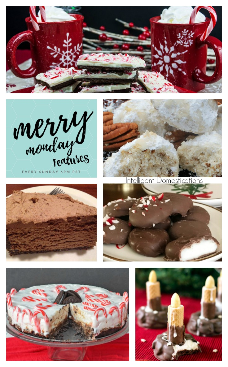 Seven or Less Ingredient Party Food Ideas for Christmas. Merry Monday Link Up Party 182 Features