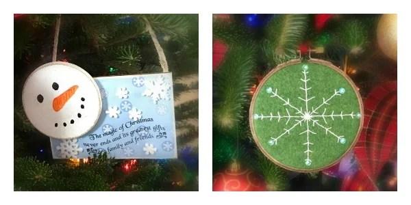 Traditional Red Ornaments and Plaid Ribbon Christmas Tree. 2017 Christmas Tree Blog Hop
