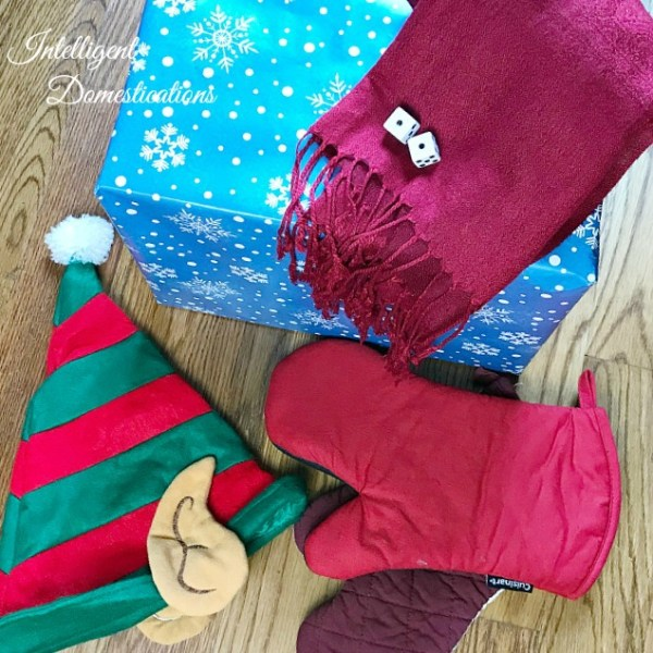 Unwrap The Gift Wearing Gloves Game | Intelligent Domestications