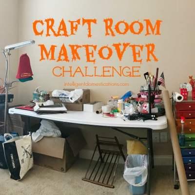 Craft Room Makeover Week One