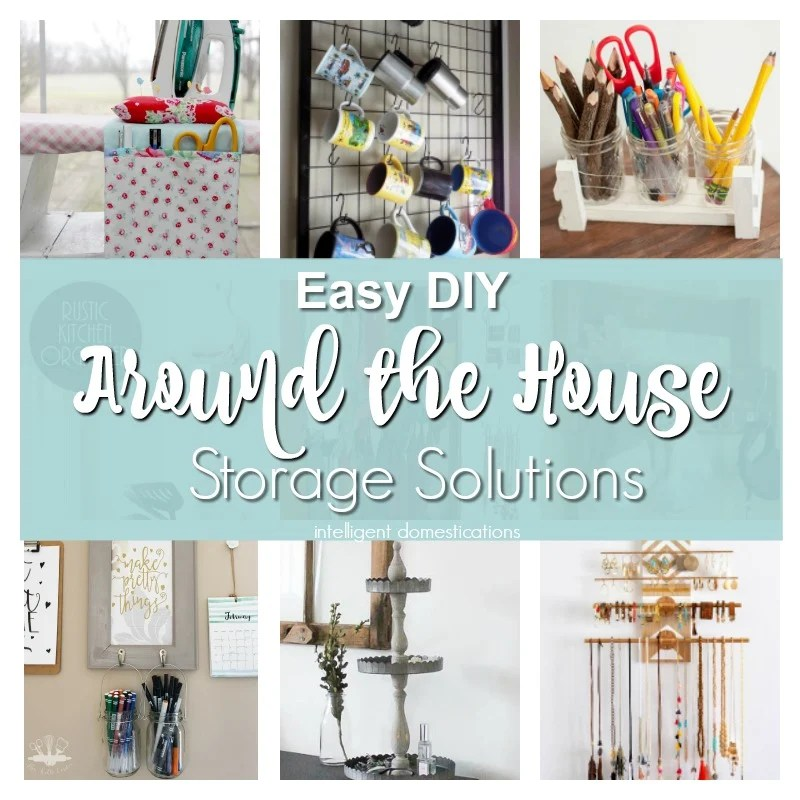 Easy DIY Storage Projects. DIY Storage For Around The House. Merry Monday  Features.