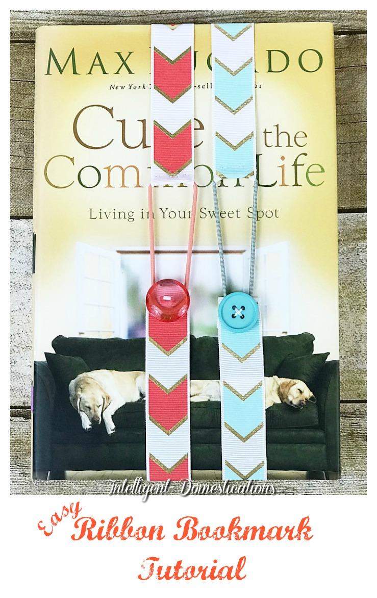 How To Make Ribbon Bookmarks. Easy Ribbon Bookmark tutorial. Easy DIY Ribbon Bookmarks DIY DIY project Craft #crafting #DIY