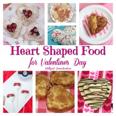 Heart Shaped Food Ideas For Valentines (Merry Monday #190)