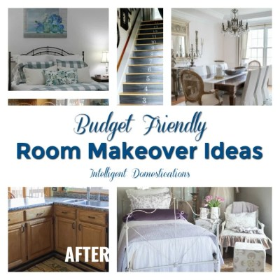 Budget Friendly Room Makeover Ideas (Merry Monday 197)