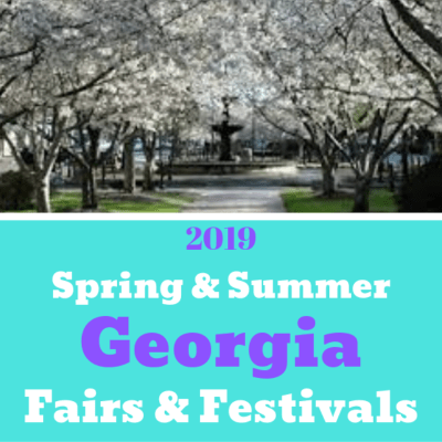 2019 Spring and Summer Fairs & Festivals In Georgia