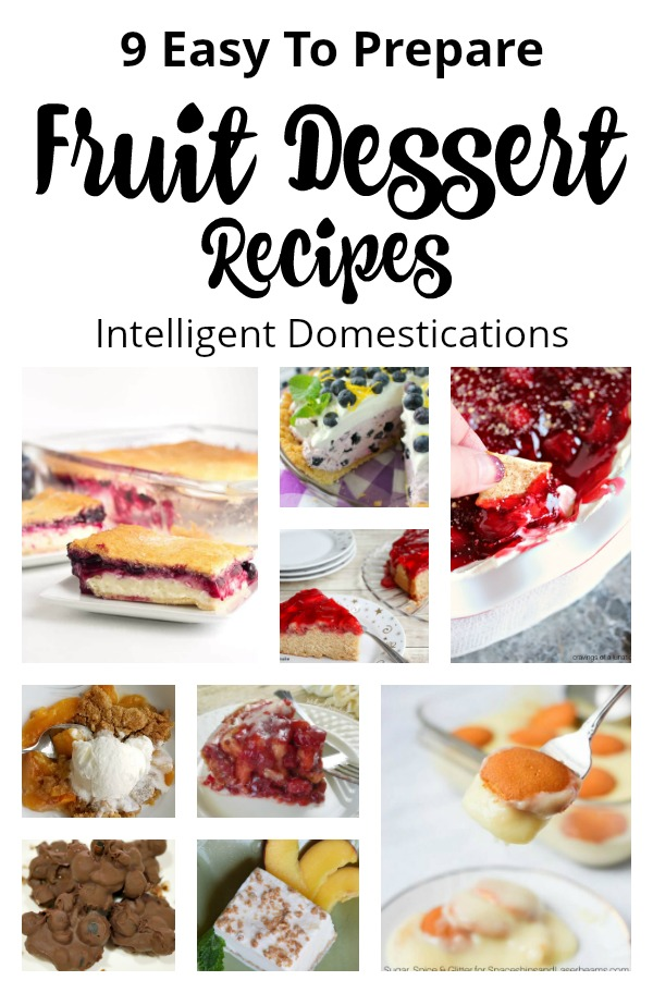 Fruit Dessert Recipes. Dessert recipes using fruit. Fresh fruit dessert recipes. Desserts made with fruit