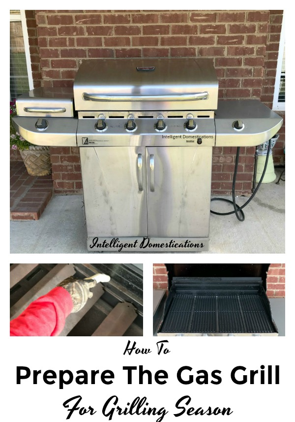 How To Prepare The Gas Grill For Grilling Season. How to clean and prepare the gas grill for grilling season. How to clean the gas grill. #grilling #gasgrill #grillingseason