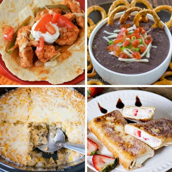 These 15 Mexican Dinner Recipe Ideas are all perfect for any weeknight meal so be sure to add them to your menu! Mexican weeknight meal ideas. Easy Mexican recipes. #mexicanmeal #mexicanrecipes #cincodemayo