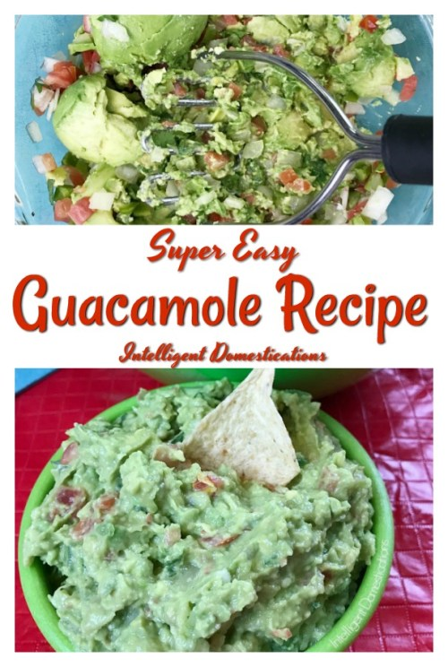 Homemade Guacamole Recipe. Made from scratch guacamole recipe. Cinco De Mayo recipes. Mexican for dinner recipes. #guacamole #fiesta #cincodemayo
