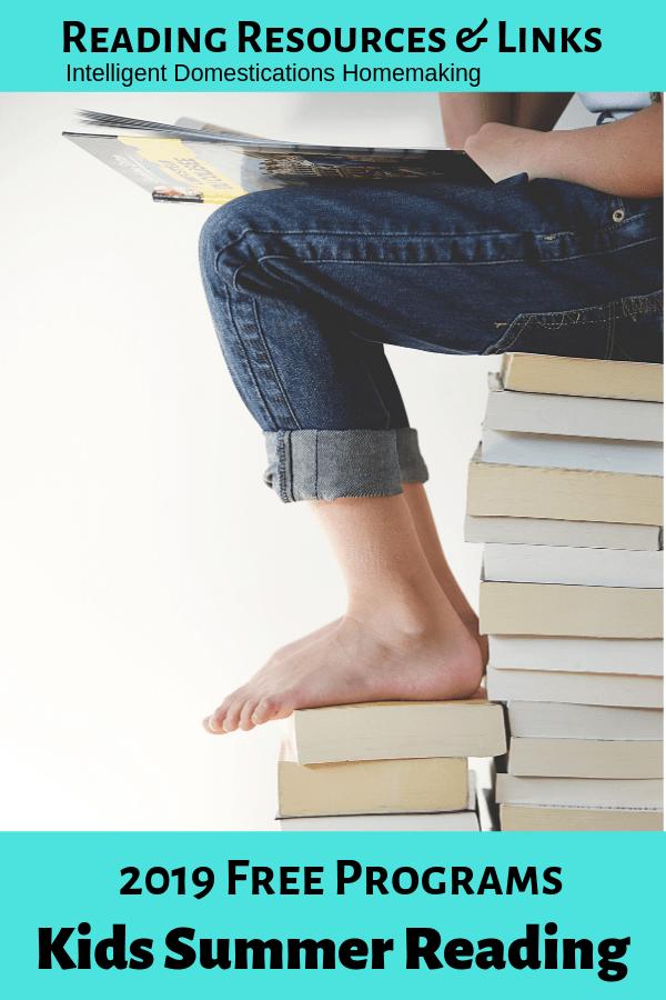 Free Summer Reading Programs - Intelligent Domestications