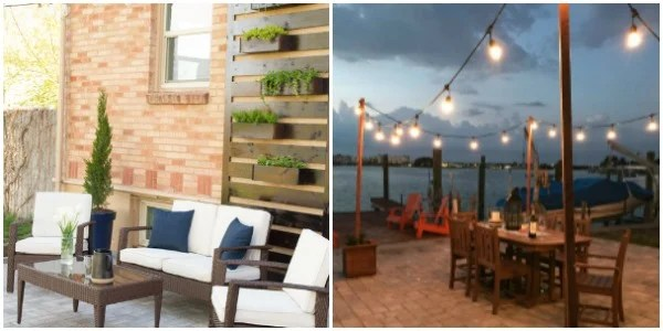 Outdoor Living Projects to add wow factor to your space. Merry Monday Blog Party Features