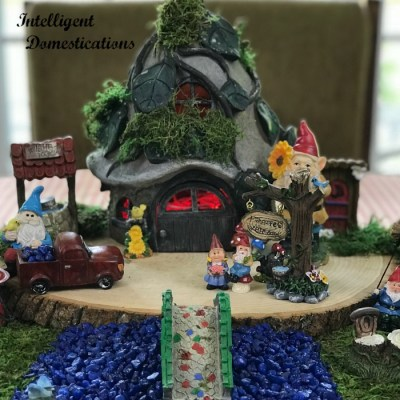 Fairy Garden Tablescape