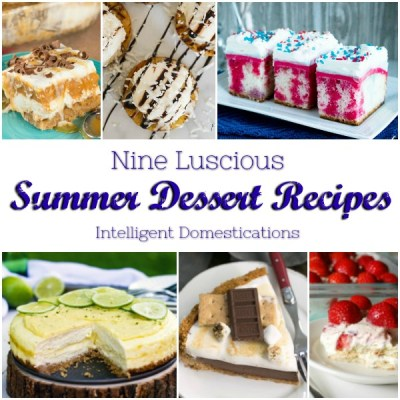 9 Luscious Summer Dessert Recipes
