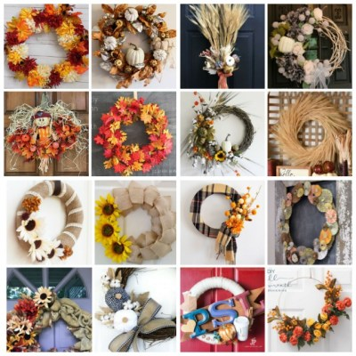 16 Ways To Make Your Own Fall Wreath