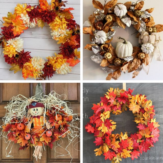 4 Fall Wreath Ideas