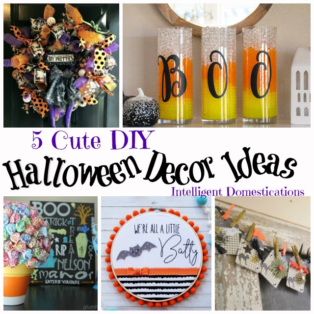Cute Diy Home Decor Ideas: 5 Cute Halloween Decor Ideas