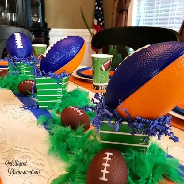 Football Table Decor ideas