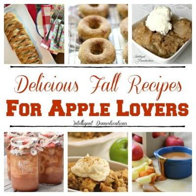 Delicious Fall Apple Recipes To Try This Year