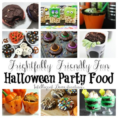 Frightfully Friendly Fun Halloween Party Food Ideas