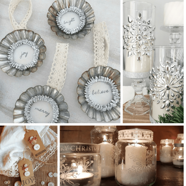 12 Days DIY Decor and Ornaments 50 Plus DIY Christmas Ideas