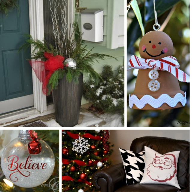 12 Days Even More Decor 640x640 50 Plus DIY Christmas Ideas