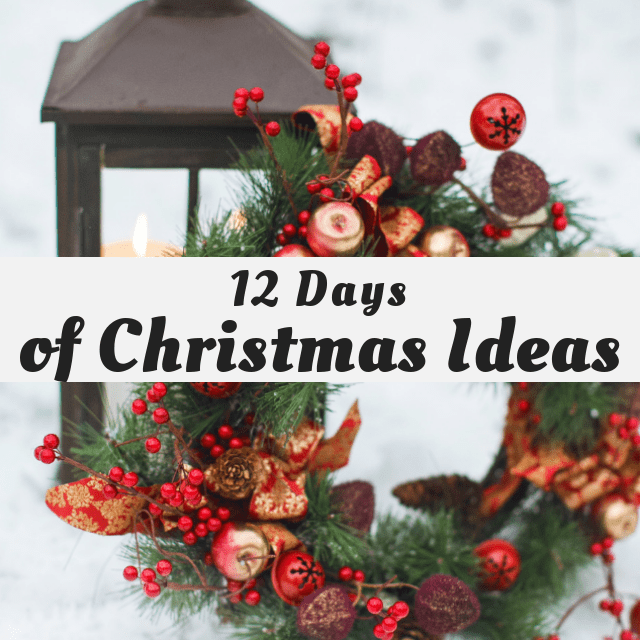 12 Days of Christmas Ideas 2018 DIY Thrifted Christmas Centerpiece
