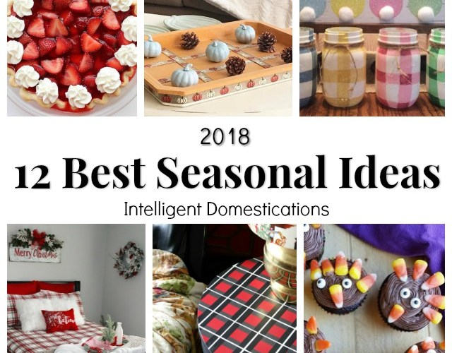12 Best Seasonal Ideas from Merry Monday for 2018