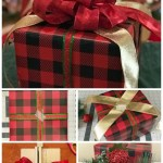 A gift in various stages of being wrapped