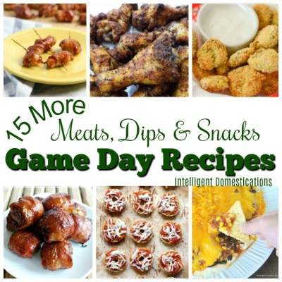 More Game Day Party Food Recipes (Merry Monday 239)
