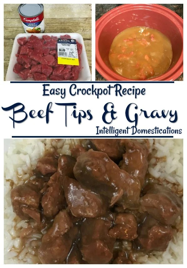 Crockpot Beef Tips and Rice