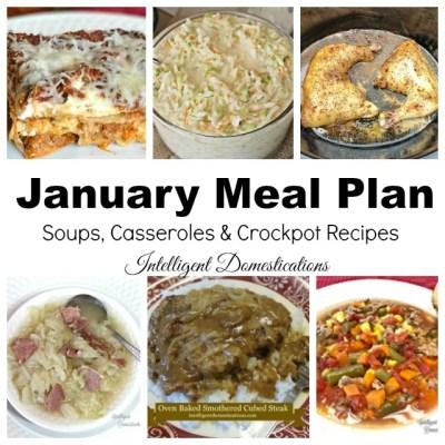 January Weeknight Meal Plan
